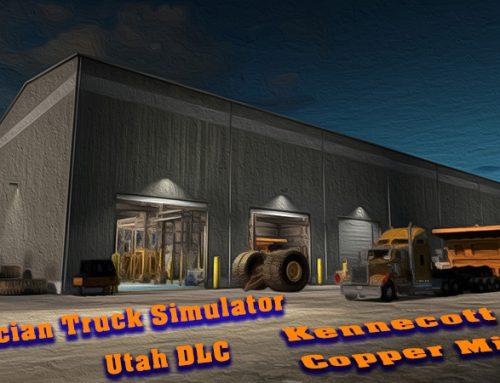 American Truck Simulator Utah DLC — Kennecott Kupfer Mine