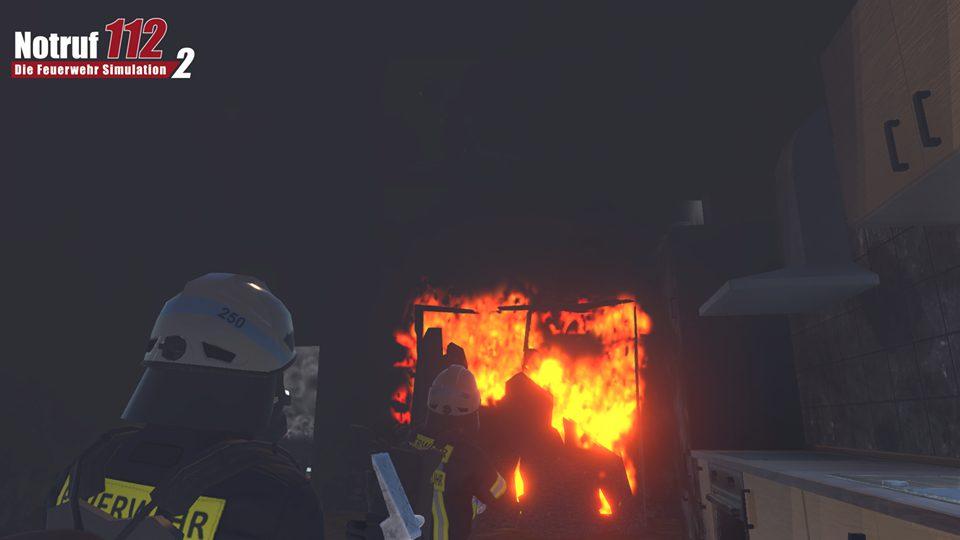 Ein normaler Zimmerbrand
