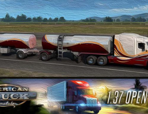 American Truck Simulator Open Beta Update 1.37
