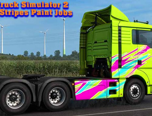 ETS 2 Super Stripes Paint Jobs