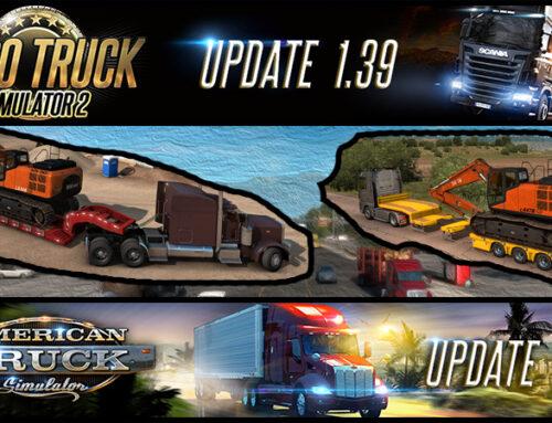 American und Euro Truck Simulator – Update 1.39 Release