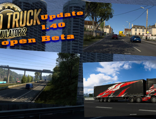 ETS 2 Update 1.4 Open Beta