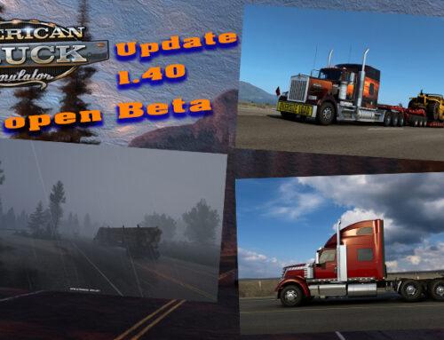 ATS Update 1.4 Open Beta